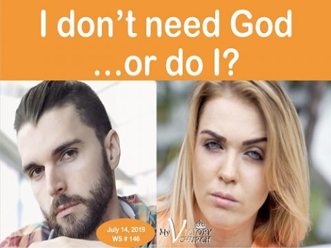 WS 146 I dont need God, do i?