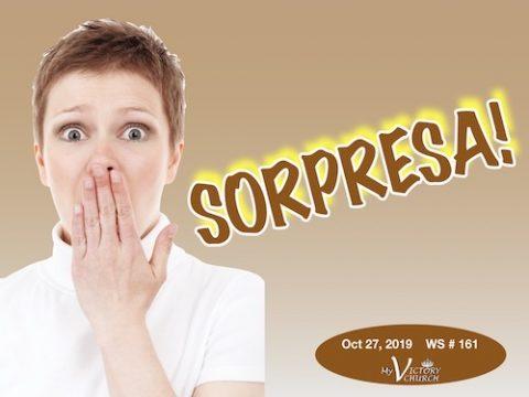 SORPRESA - WS 161 - Oct 27 2019