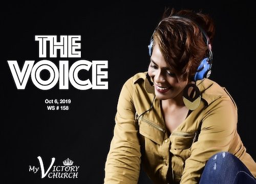 THE VOICE - WS 158 - October 6th 2019