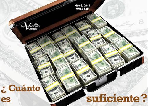 WS 162 SP ¿Cuánto dinero es suficiente? Nov 3