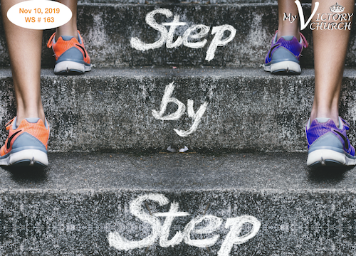 Worship Service #163 - 11/10/2019 - Step  Step - In this message Gian will talk to you about how you can get closer to God.How to live your day closer to The Lord step  step!