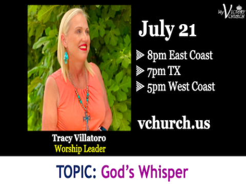 LIVE - God's Whisper - My Victory Church - July 21st