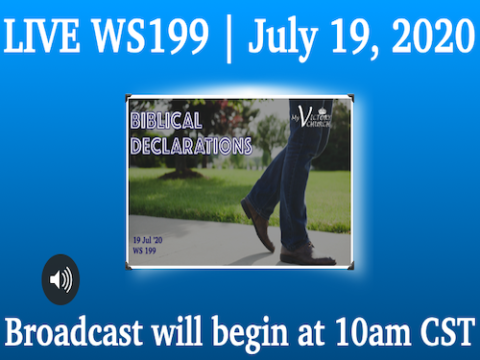 LIVE - BIBLICAL DECLARATIONS - My Victory Church - WS #199 - July 19th, 2020