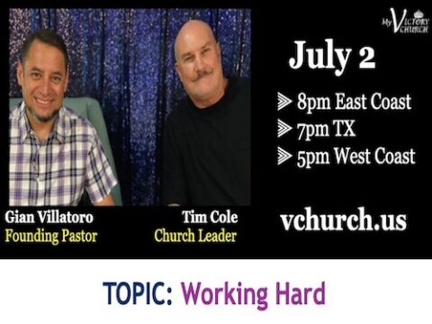 LIVE - Working Hard - VFH - My Victory Church - July 2nd, 2020