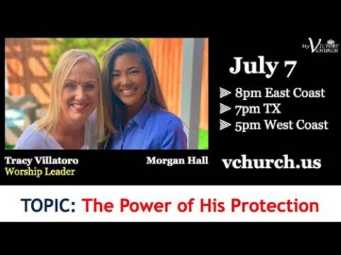 LIVE - The Power of His Protection - My Victory Church - July 7th, 2020
