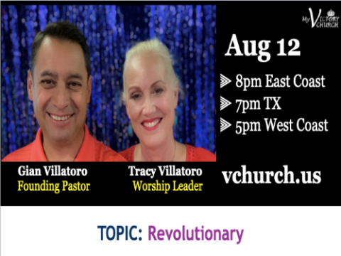 LIVE - Revolutionary - My Victory Church - August 12th, 2020