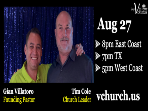 LIVE - Dealing with Stress - My Victory Church - August 27th, 2020