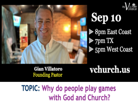 LIVE - Why do people play games with God and Church? - My Victory Church - September 10th, 2020