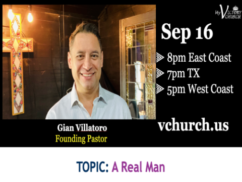 LIVE - A Real Man - My Victory Church - September 16th, 2020