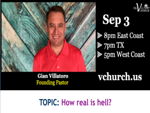 LIVE - How real is hell? - My Victory Church - September 3rd, 2020