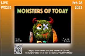 LIVE - Monsters of Today | WS231 | Feb 28 2021 | Victory Church